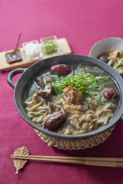 ハトムギ鍋
