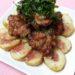 鶏の唐揚げ 梅肉ソース